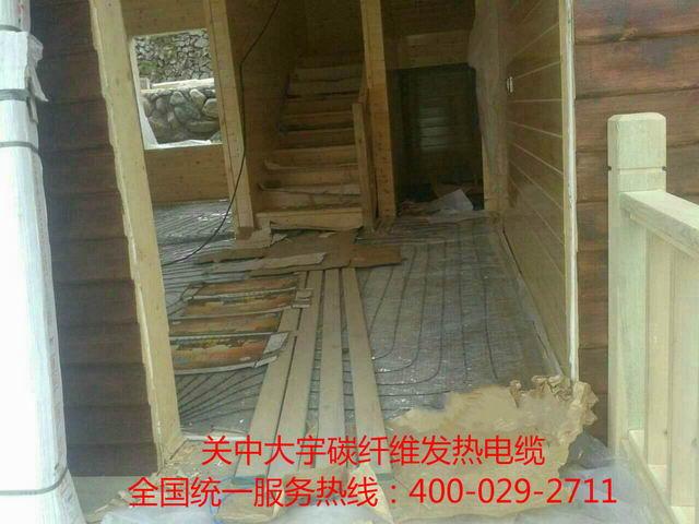 高档木屋发热电缆施工