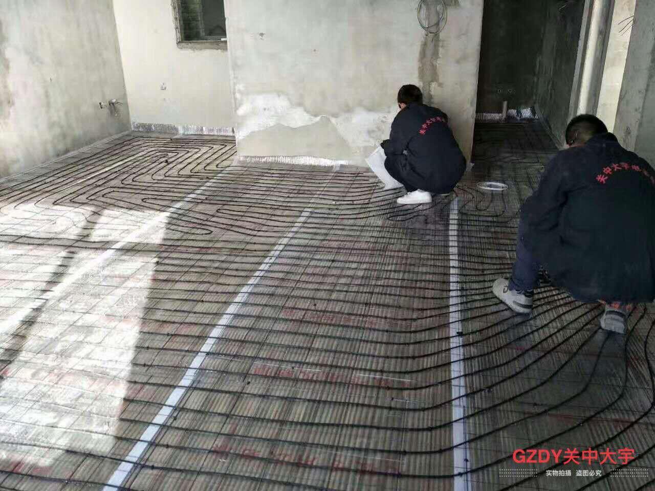 GZDY碳纤维发热电缆施工图1