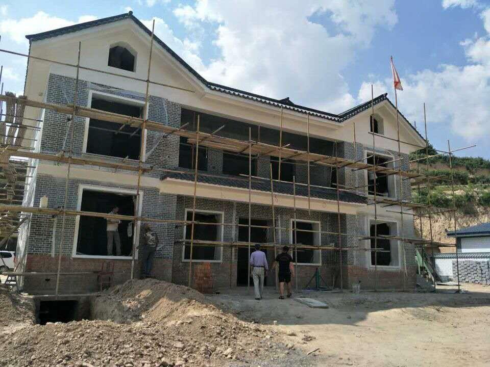 庆阳自建房别墅碳纤维电地暖安装项目