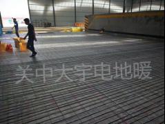 路桥集团碳纤维电地暖施工案例1